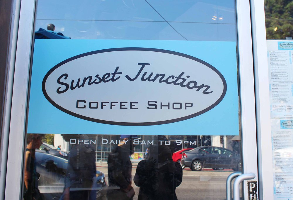 Sunset Junction Coffee Shop Silver Lake