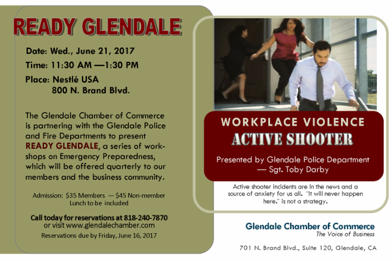 READY GLENDALE Infographic